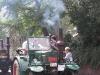 Een Lanz Bulldog met rookgordijn (Oldtimer Traktorentreffen (2008)