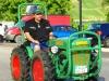 Oldtimer Treffen 2016 - gelijkenis bestuurder en tractor (aug 2016)