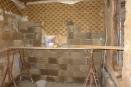 nieuwe keukenmuur (juli 2013)