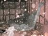 regenwateropvangzeil boven keukenplafond (2007)