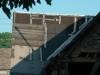 het dak boven de garage (juli 2011)