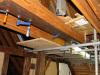 eerste plafondbalk (okt 2020)