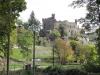Reichenstein - eerste zicht op Burg (okt 2017)