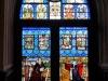Rheinstein Museum - raam met Keulse voorstelling (okt 2017)