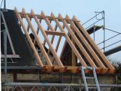 nieuwe dakconstructie (nov 2012)