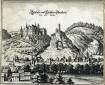 Schloss Oberstein - in 1645 toen de Nahe nog te zien was (okt 2018)