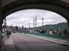 Traben-Trarbach – de weerszijden van de brug over de Mosel (juli 2009)