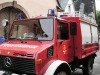 Trachtentreffen 2008 - de brandweer tot slot