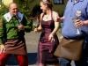Trachtentreffen – Stadtweinkönigin met Stadschröter (juli 2013)
