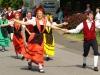 Trachtentreffen - de Bitburger Volkstanzgruppe (juli 2014)