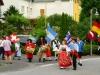 Trachtentreffen - vlaggen (juli 2015)