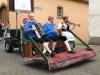 Trachtentreffen - rijdende muziek (juli 2016)