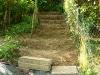 trapvormig omgespit (juli 2011)