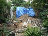 Plastic tegen de regen (sep 2009)
