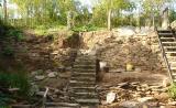 overzicht tuin en muur van voren (okt 2011)