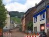 Wandeling Wolf - opgebroken Bergstraßetrasse in Kröv (juni 2017)