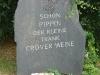 Weinlehrpfad - Pipin der Kleine (714-768) was de eerste koning der Franken (aug 2011)