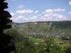 Wolfer Berg-Kloster - zicht op Wolf (juli 2006)