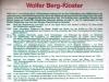 Wolfer Berg-Kloster - geschiedenis (juli 2006)